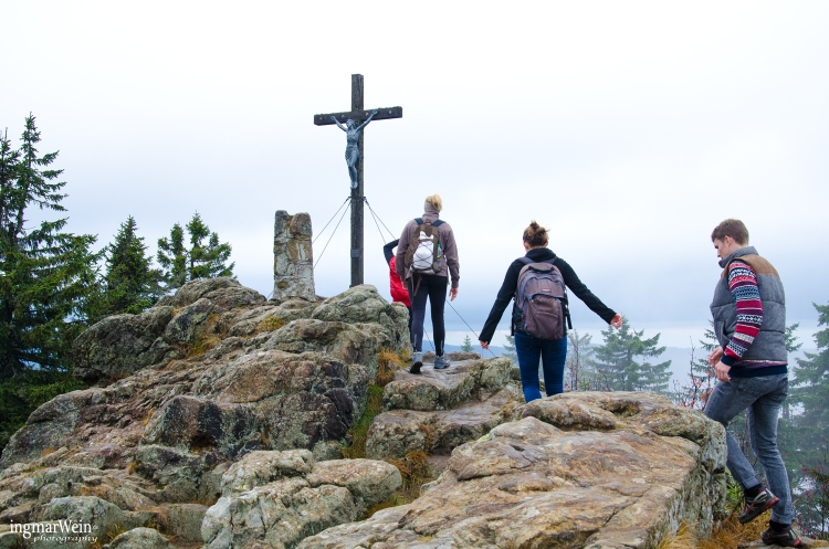 Gipfel des Großen Rachel, Bayerischer Wald