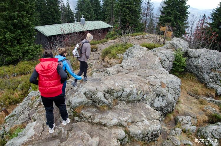 Wanderung zum Rachel, Bayerischer Wald