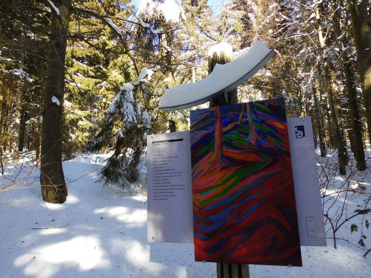 Kunst auf dem Dreisessel, Bayerischer Wald