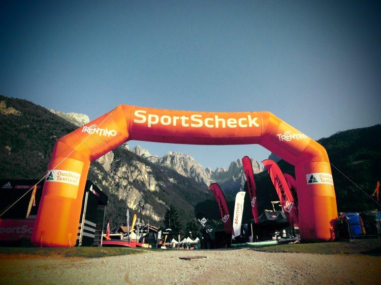 SportScheck OutdoorTestival Gelände, Brenta Dolomiten, Molvenosee