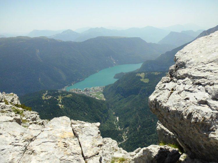 Molvenosee Brenta Dolomiten, Italien
