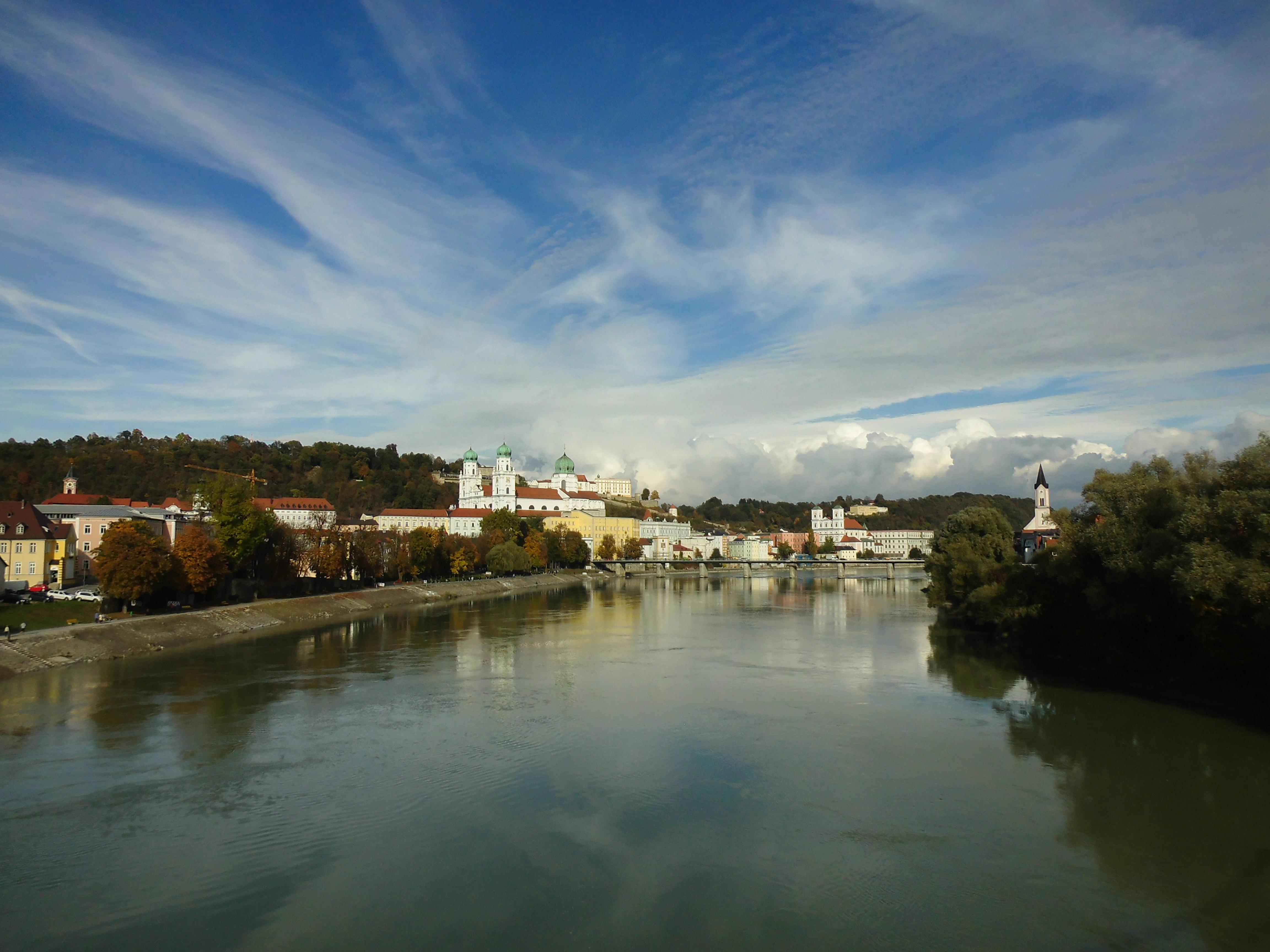 Joggen, Inn, Passau