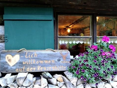 Kenzenhütte, Ammergauer Alpen