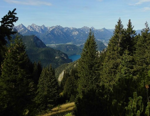 Ammergebirge - Blick auf den Ammersee