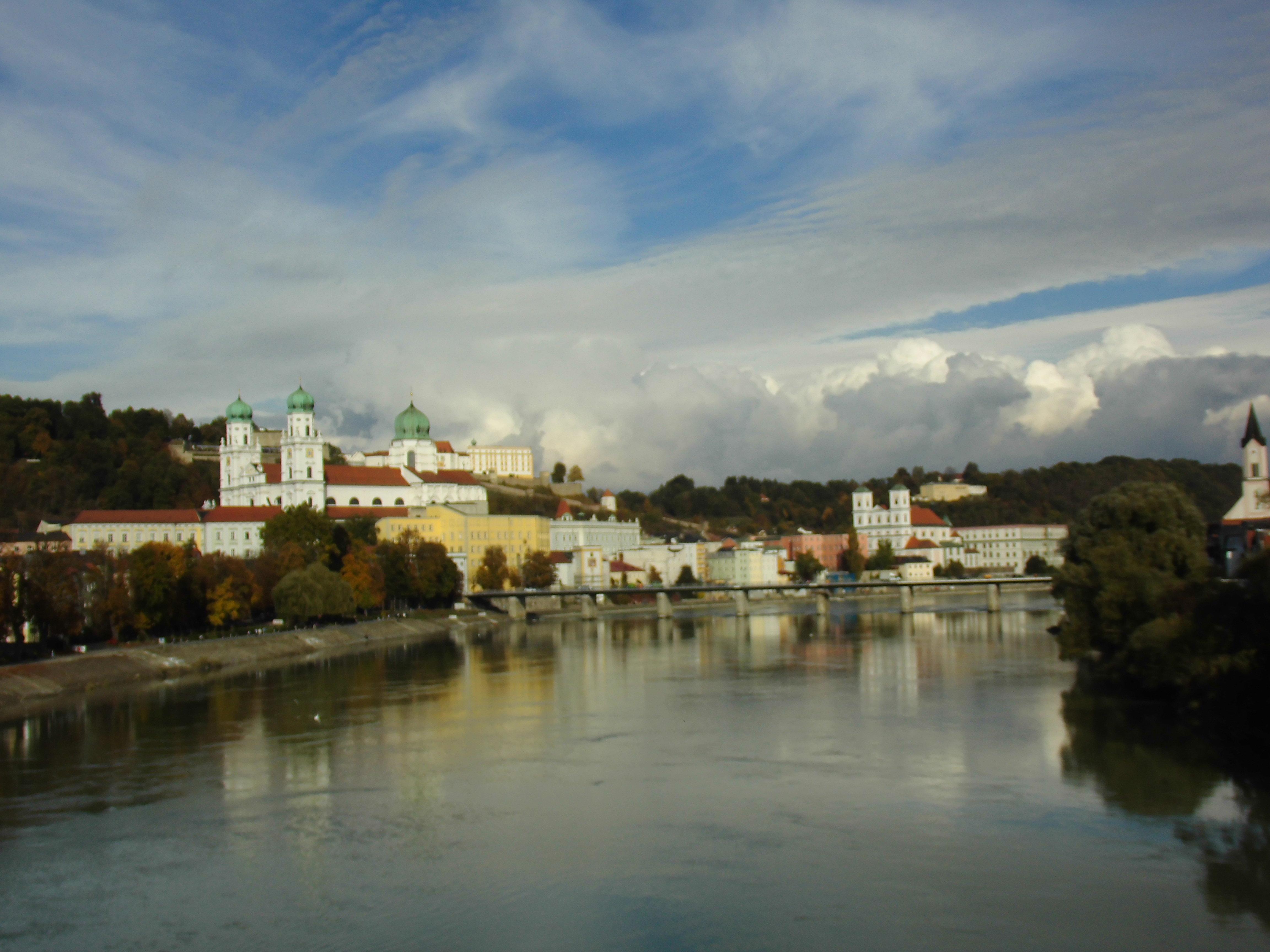 St. Stephans Dom und Altstadt in Passau