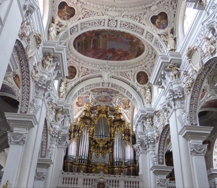 Die größte Kirchenorgel der Welt im St. Stephans Dom in Passau