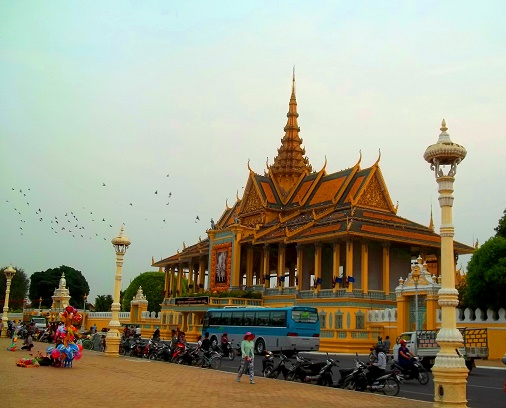 Silver Pagoda (Royal Palace), Phnom Penh, Cambodia