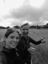 Blogger auf dem Westerwaldsteig