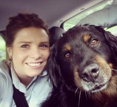 Wandern mit Hund Spike