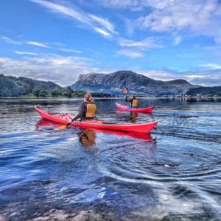 Kajaken Askvoll, Norwegen
