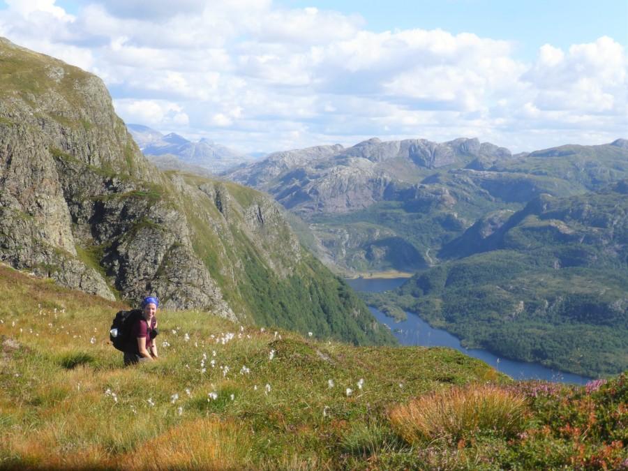 Blick auf Stongfjorden. Foto von bruderleichtfuss.com