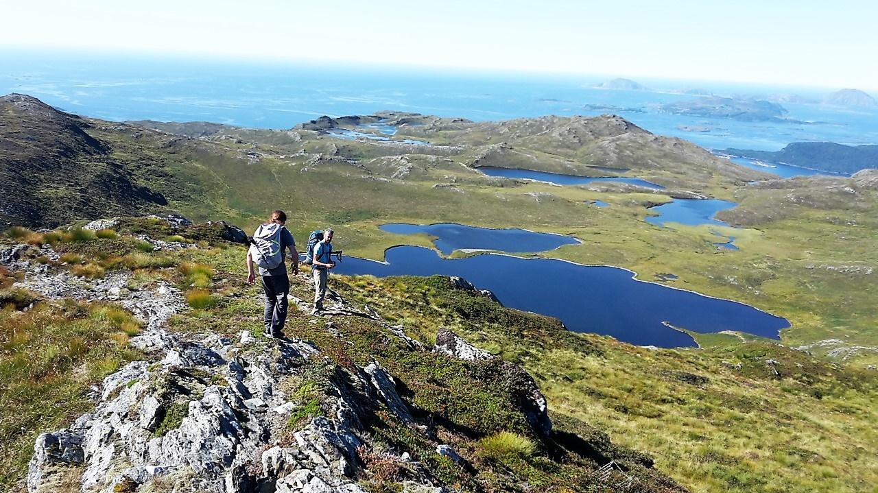 Wandern in Stongfjorden, Norwegen bei der #fjordchallenge