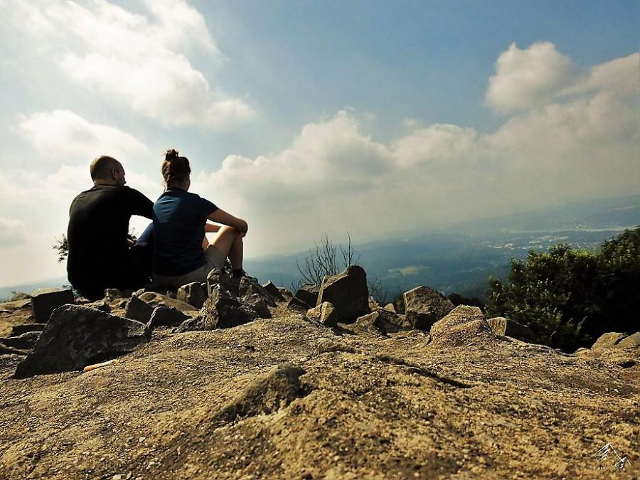 Aussichtspunkt Löwenburrg im Siebengebirge