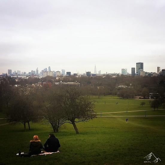 Ausblick auf London