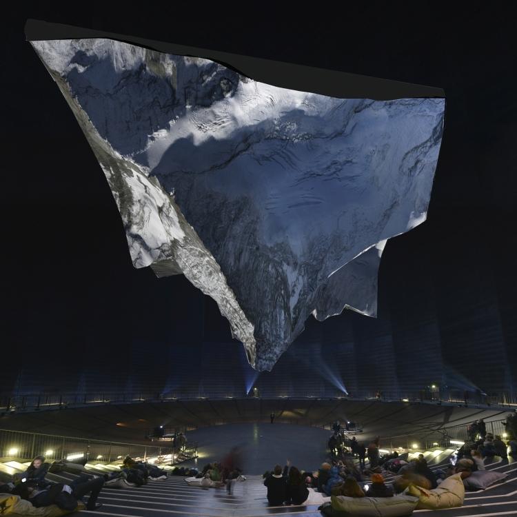 Gasometer Oberhausen: Matterhorn Skulptur