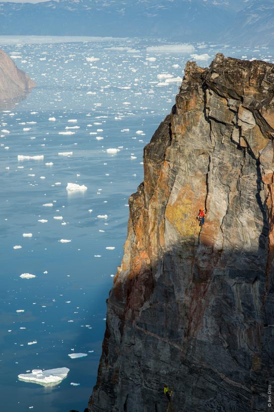 Kletterfelsen auf Baffin Islands, EOFT