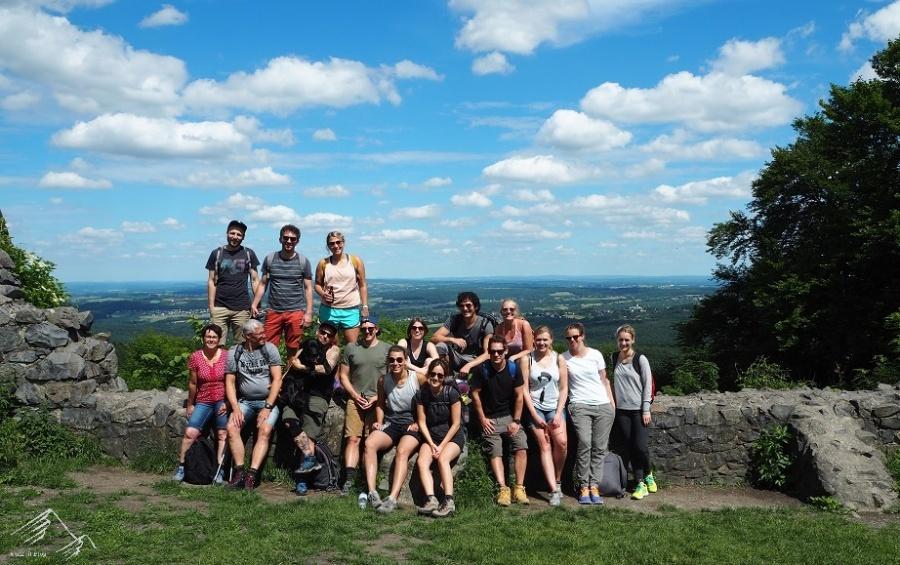Geburtstagswanderung auf die Löwenburg im Siebengebirge