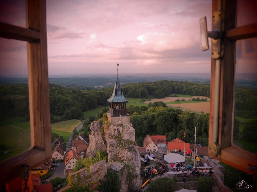 Aussicht Burg Hohenstein