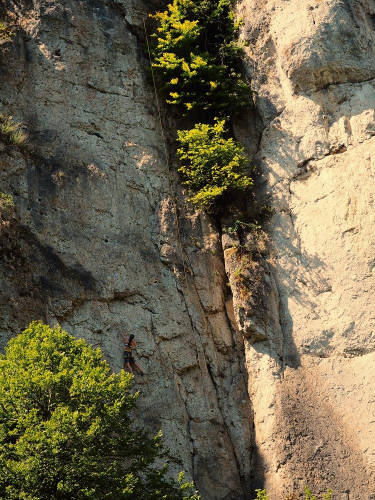 Pegnitztal: Klettern auf hohem Niveau