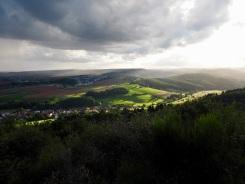 Panoramablick und Allwetter an der Kupferberghütte