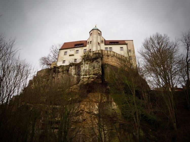 Ziel der Etappe 2 des Malerwegs & Übernachtungsort: Burg Hohnstein