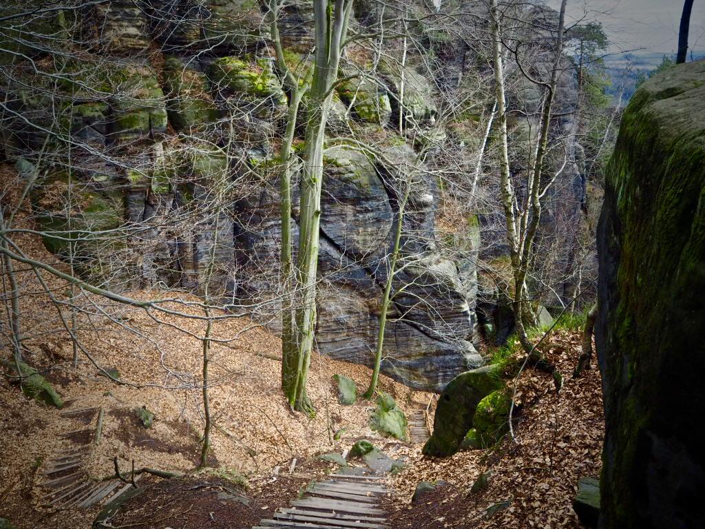 Malerweg Etappe 3, Sächsische Schweiz