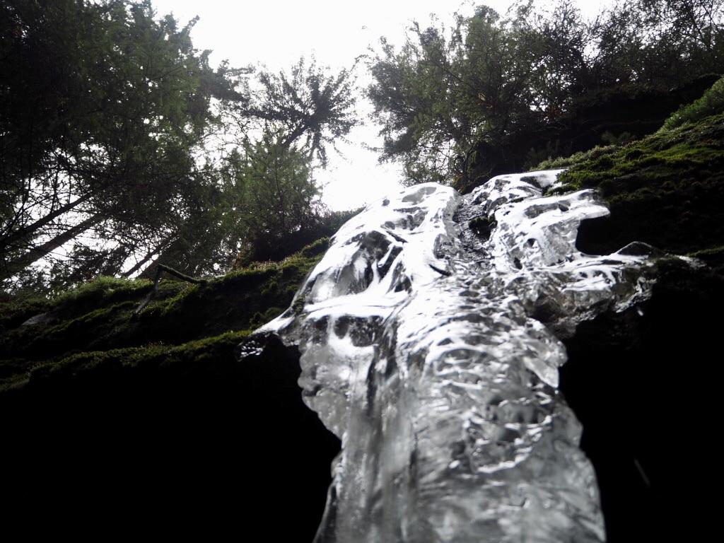 Sächsische Schweiz - Gefrorene Wasserfälle
