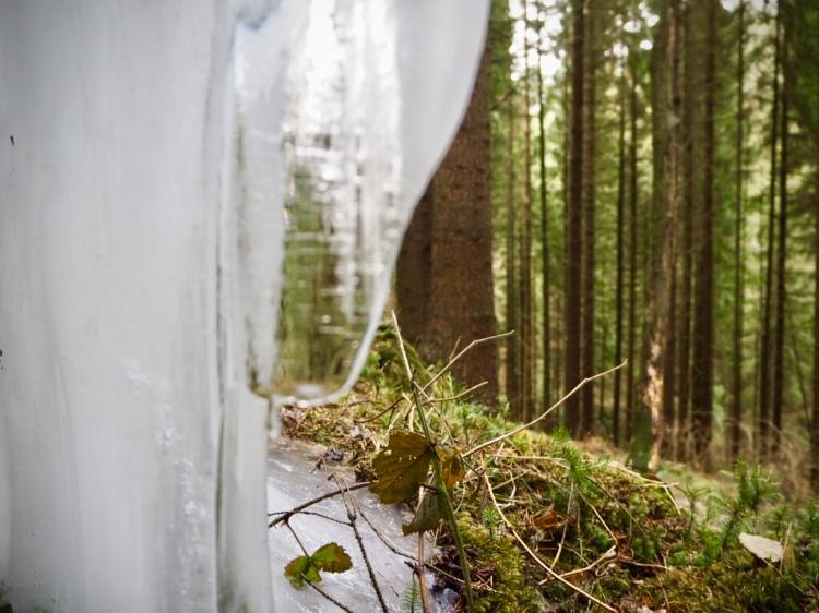 Malerweg Etappe 3 - Eiszapfen