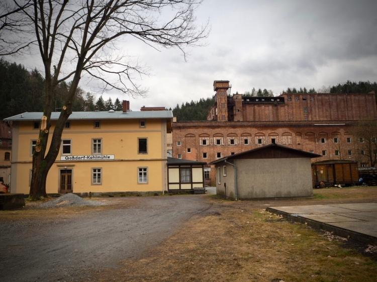 Ehemalige Papierfabrik & Linoleumwerk Kohlmühle, Sächsische Schweiz