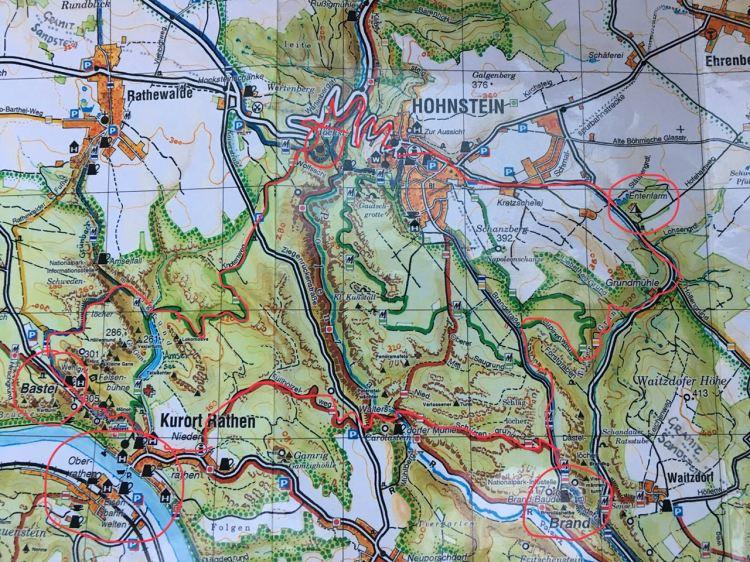 Rundwanderung über die Bastei in der Sächsischen Schweiz