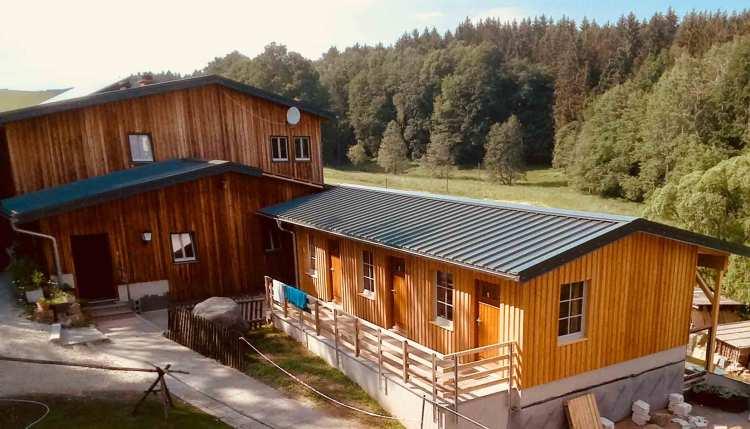 Der neue Schlafsaal der Ottendorfer Hütte. Foto: Ottendorfer Hütte GmbH