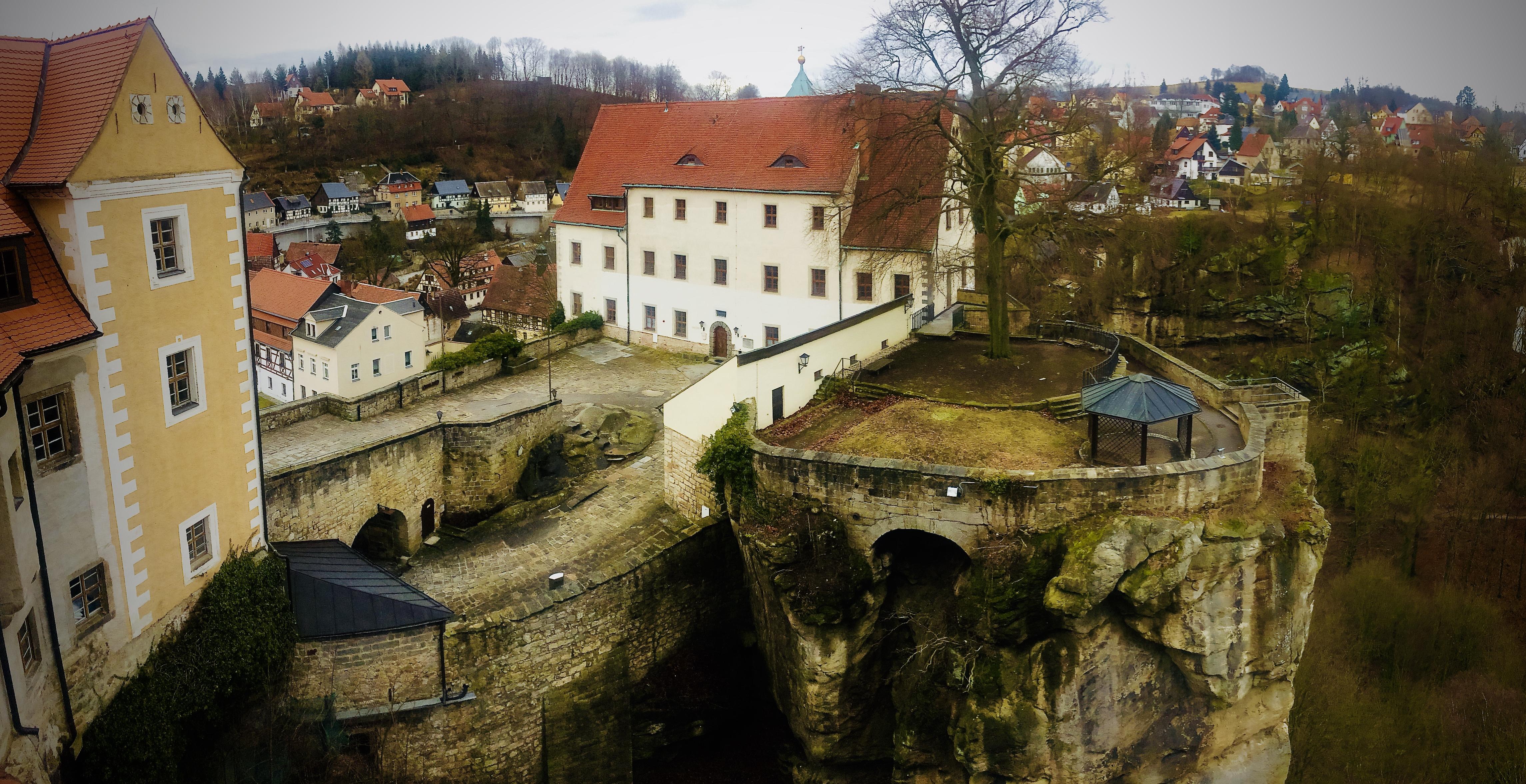 Burg Hohnstein Sächsische Schweiz Malerweg