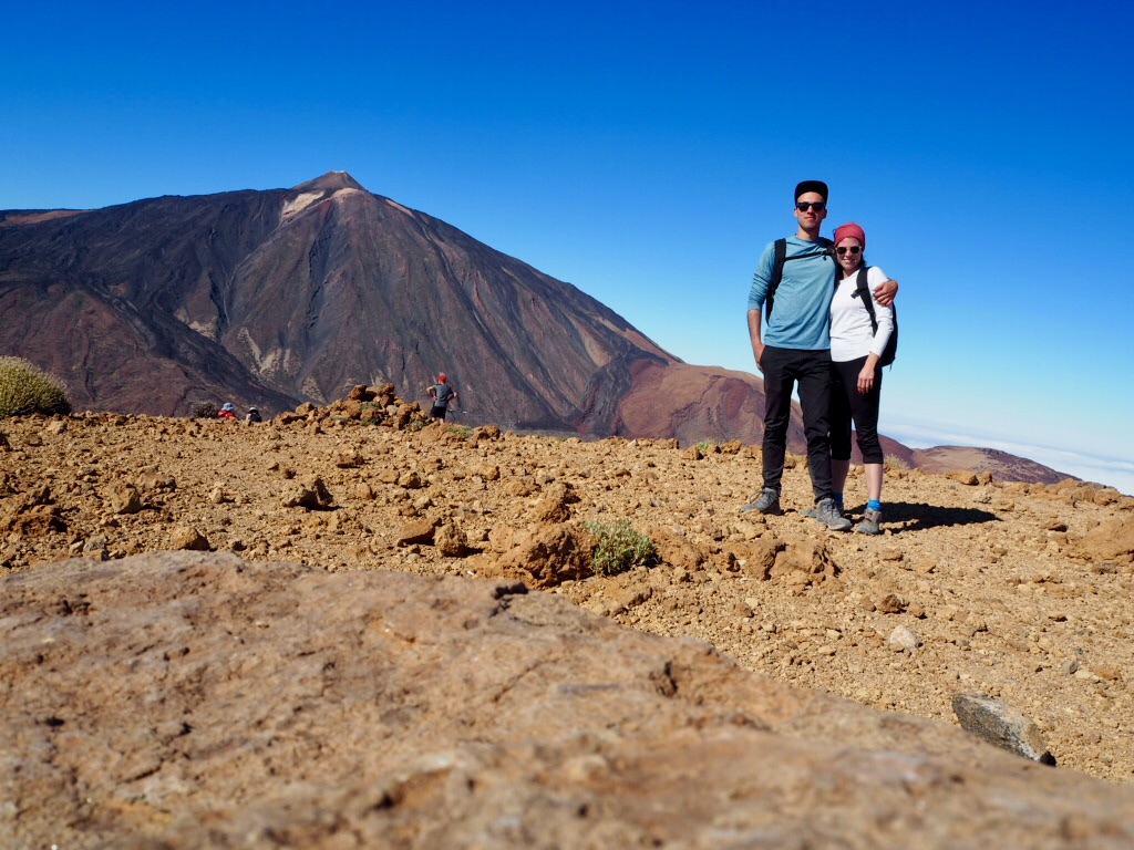 Auf dem Gipfel des Guajara (2.715m), Teneriffa