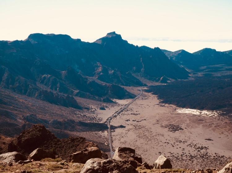 Mondlandschaft im Nationalpark El Teide.