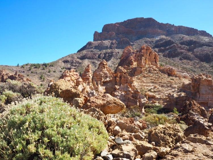 Piedras Amarillas: Kletterfelsen auf Teneriffa