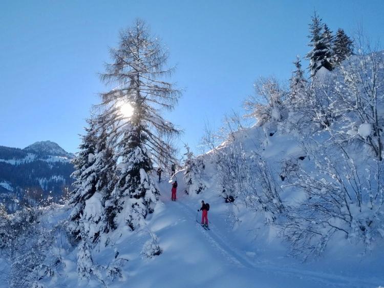 Großarltal in Österreich: Tal der Skitouren.